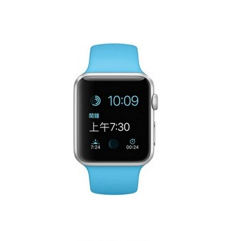 【42mm】Apple Watch Sport 藍色運動 / 銀色鋁金屬 MJ3Q2TA/A