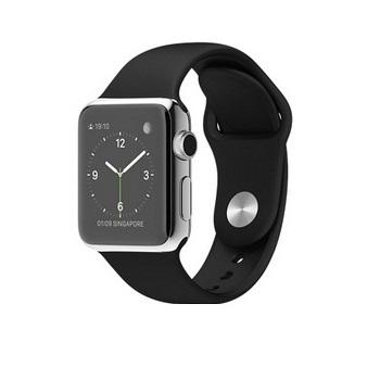 【38mm】Apple Watch 黑色運動 / 不鏽鋼 MJ2Y2TA/A