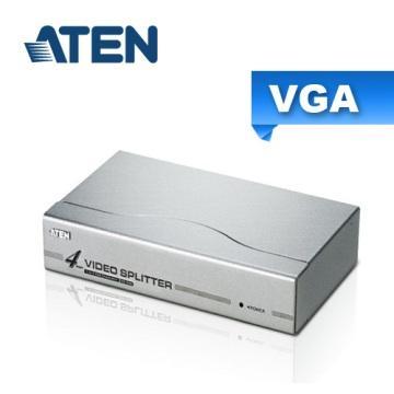 ATEN 4埠 VGA 螢幕分配器