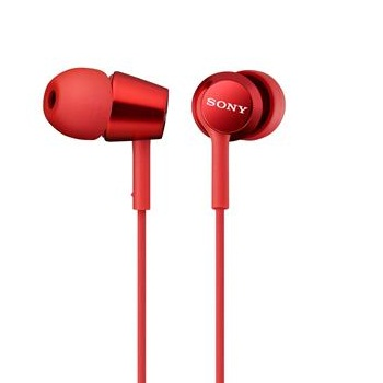 SONY MDR-EX150AP入耳式耳麥-紅