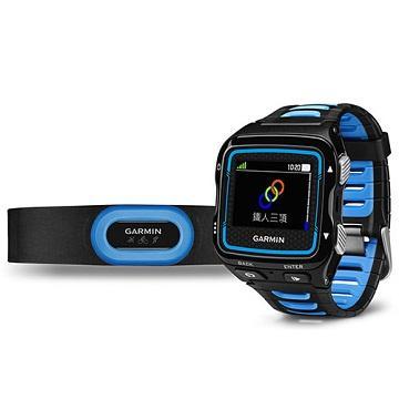 Garmin FR920XT+HRM-Tri鐵人三項錶/黑藍