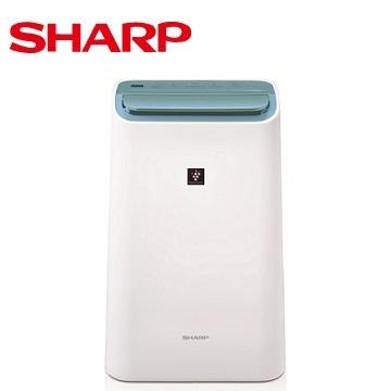 【福利品 】SHARP 11公升清淨除濕機 DW-F22HT-W