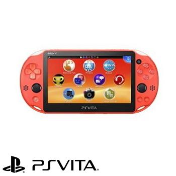 【福利品限量網銷獨賣組】-】PS VITA 2007型掌上型主機 - 霓虹橘