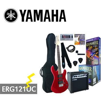 YAMAHA GIGMAKER電吉他套組-紅
