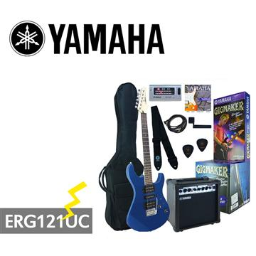 YAMAHA GIGMAKER電吉他套組-藍