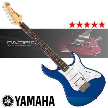 YAMAHA 入門款電吉他-藍 PACIFICA012