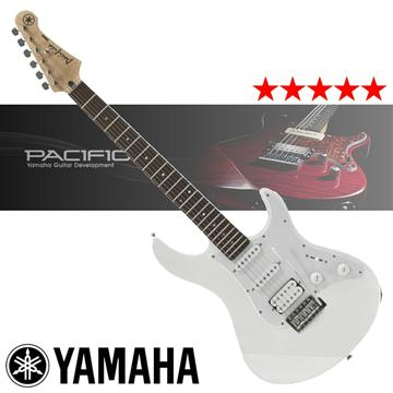 YAMAHA 入門款電吉他-白 PACIFICA012