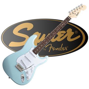 SQUIER 電吉他 經典藍