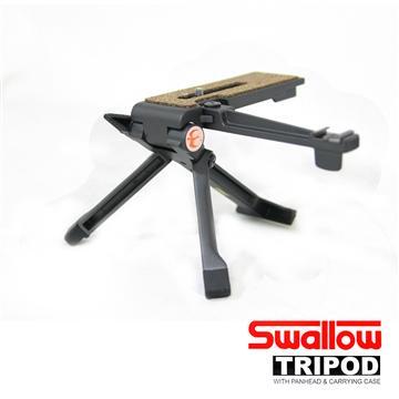 Swallow 鋁合金桌上型腳架-附閃燈支架