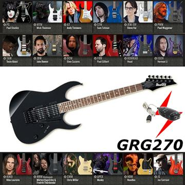 IBANEZ 電吉他 黑色款