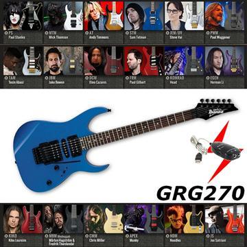 IBANEZ 電吉他 藍色款 GRG270
