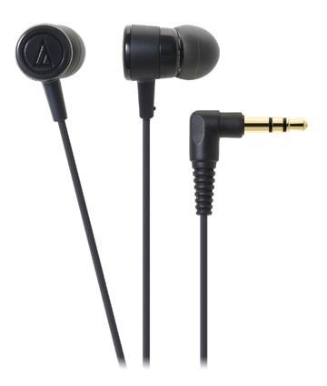 鐵三角 CKL220耳塞式耳機-黑
