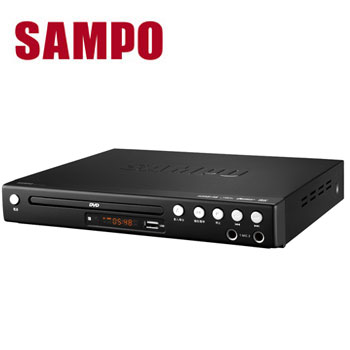(拆封品)聲寶SAMPO DVD播放器