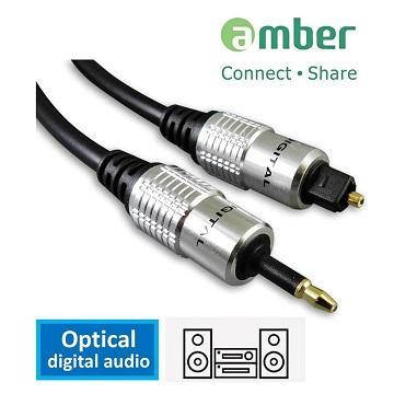 amber S/PDIF 光纖數位音訊傳輸線 mini-1M