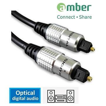 amber S/PDIF 光纖數位音訊傳輸線-2M AT12