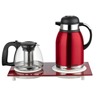 【KRIA可利亞】二合一泡茶機/電水壺/快煮壺
