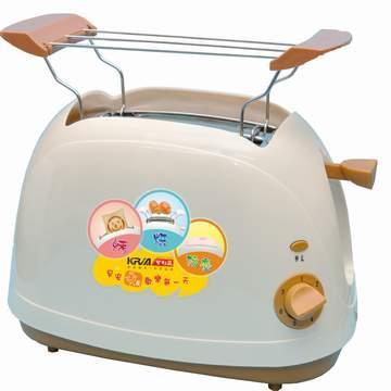 【KRIA可利亞】烘烤二用笑臉麵包機(咖啡)