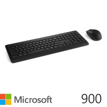 微軟 Microsoft 無線鍵盤滑鼠組 900