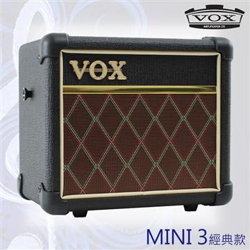 VOX MINI3 可攜式類比吉他擴大音箱-經典 MINI3 G2