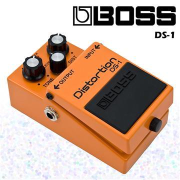BOSS 失真破音/過載效果器經典款 DS-1