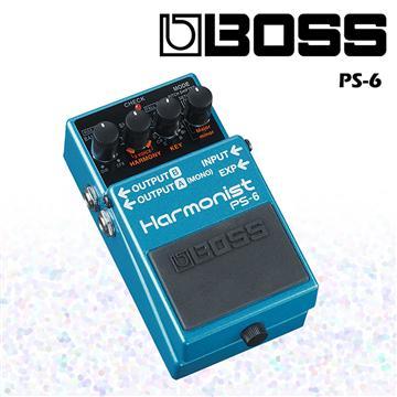 BOSS 智慧型移調效果器 Harmonist PS-6