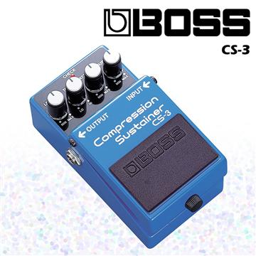 BOSS 壓縮效果器/單顆等化效果 CS-3