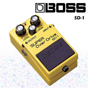 BOSS 超級破音失真效果器 Super Diver SD-1