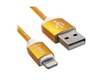 【1M】i-gota MFI認證 Lightning USB傳輸線-金