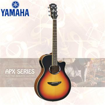 山葉YAMAHA APX500III 電民謠吉他 漸層色