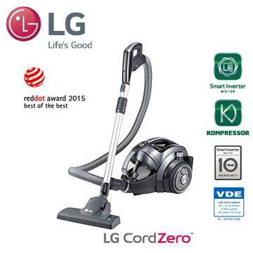 【展示機】LG 無線系列 圓筒式吸塵器