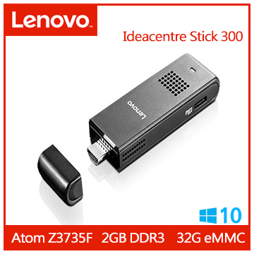 【拆封品】LENOVO Ideacentre Stick 300 電腦棒 STICK 300_ 90F20010TQ
