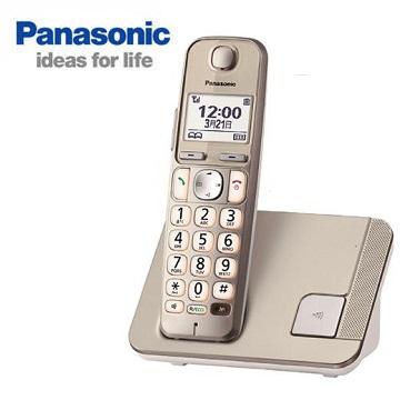 Panasonic中文顯示大字鍵數位無線電話 KX-TGE210TWN