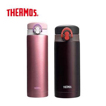 膳魔師彈跳真空保溫瓶500ml+350ml-粉紅+咖啡