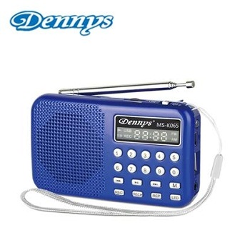 Dennys USB/SD/MP3/AM/FM 錄音插卡音箱喇叭 MS-K065
