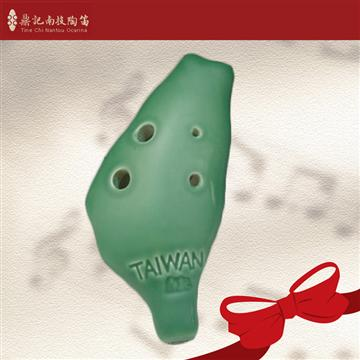 南投鼎記 中音C調6孔陶笛-綠色