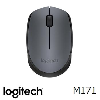 羅技 LogitechM171 無線滑鼠 - 黑