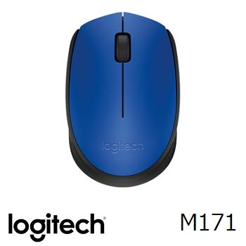 羅技 LogitechM171 無線滑鼠 - 藍 910-004661
