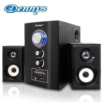 Dennys 2.1聲道USB/SD多功能木質喇叭