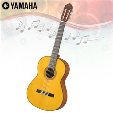 YAMAHA 亮面單板雲杉木古典吉他