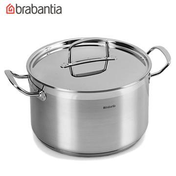 荷蘭BRABANTIA Favourite系列不鏽鋼24公分雙耳湯鍋(小) Favourite系列