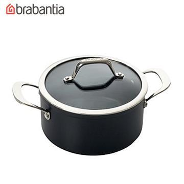荷蘭BRABANTIA Tritanium鈦系列20公分雙耳湯鍋3.1L