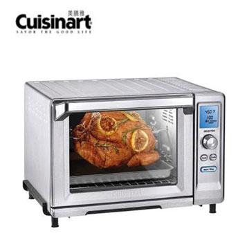 【福利品】Cuisinart 22L微電腦不鏽鋼旋風式烤箱