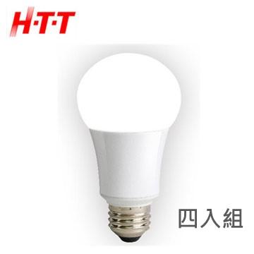 (四入組)雄光照明HTT 8W LED節能燈泡(白光)