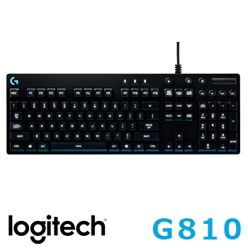 羅技 Logitech G810 ORION SPECTRUM RGB機械遊戲鍵盤