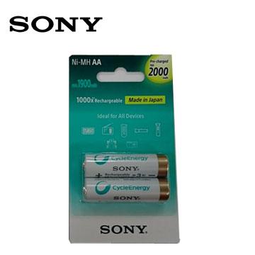 SONY新型低自放充電電池3號2入(2000mAh)
