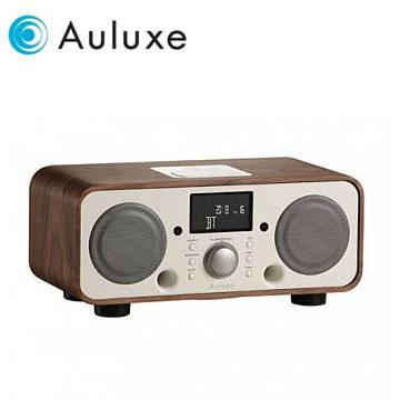 Auluxe NFC/藍牙/USB揚聲器 New Breeze(胡桃木白)