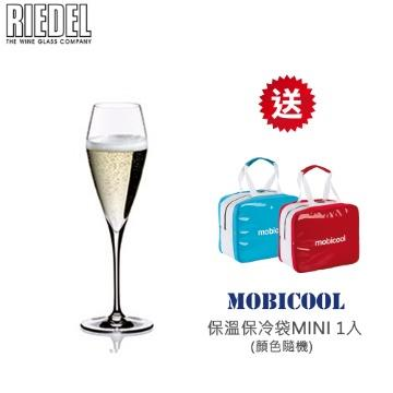 RIEDEL CHAMPAGNE GLASS 香檳杯(1組2入)★贈MOBICOOL MINI保溫保冷袋1入 (顏色隨機)★ VITIS系列