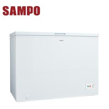 聲寶300公升臥式冷凍櫃