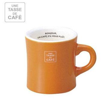 【福利品】UN CAFE 300C.C馬克杯-橘色 MVW-IBK-236024