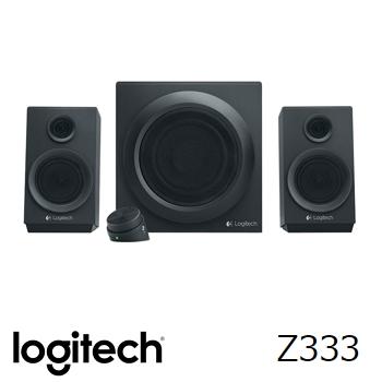 【福利品】羅技 Logitech Z333 2.1聲道音箱喇叭系統 980-001252